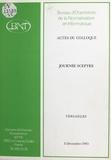 Bureau d'orientation de la nor - Actes du Colloque-Journée Sceptre : Versailles, 3 décembre 1985.