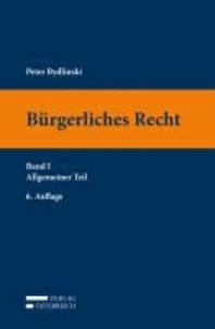 Bürgerliches Recht Band I. Allgemeiner Teil.