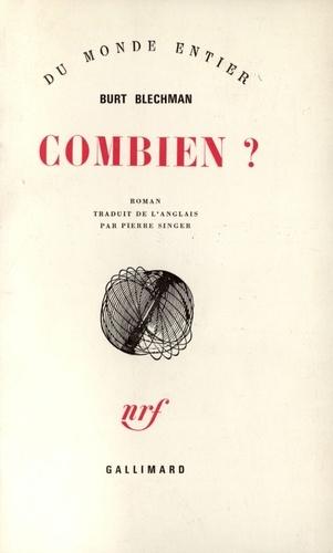 Burt Blechman - Combien ?.