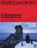 Régis Arnaud - France Japon éco N° 102, Printemps 20 : Le développement durable.