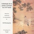 Byoung-Jou Lee - Anthologie de la poésie coréenne du XVIe siècle - Edition bilingue français-coréen.