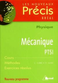C Clerc et P Clerc - Mécanique PTSI.