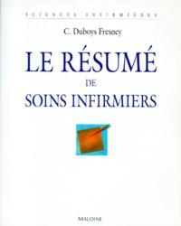 C Dubois-Fresney - Le résumé de soins infirmiers.
