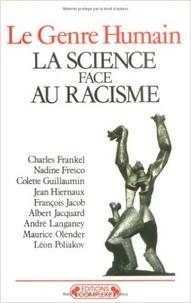 C Frankel - La Science face au racisme.