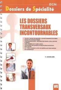 C. Goublaire - Les dossiers transversaux incontournables.