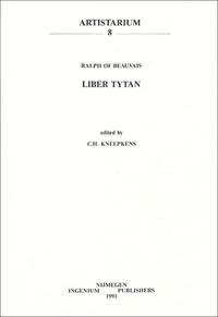 C-H Kneepkens - Liber Tytan - Ralph of Beauvais.