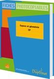 C-J Delacroix - Espace et géométrie CP - Fiches photocopiables.