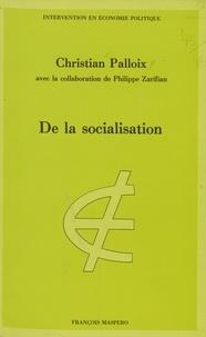 C Palloix - De la Socialisation.