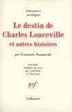 C Paoustovski - Le Destin de Charles Lonceville et autres histoires.