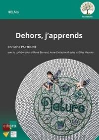 Liens de téléchargement de livres électroniques gratuits Rapidshare Dehors, j'apprends par C. Partoune