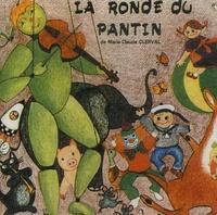 Marie-Claude Clerval - La ronde du pantin - CD audio.