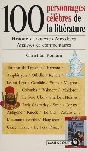 100 personnages célèbres de la littérature