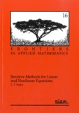 C. T. Kelley - Iterative Methods for Linear and Nonlinear Equations.
