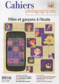 Isabelle Collet et Geneviève Pezeu - Cahiers pédagogiques N° 487, Février 2011 : Filles et garçons à l'école.