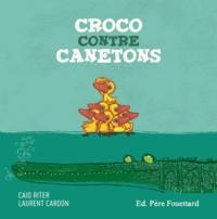 Caio Riter et Laurent Cardon - Croco contre canetons.