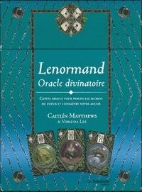 Lenormand Oracle divinatoire- Cartes oracle pour percer les secrets du futur et connaître votre avenir - Caitlin Matthews |