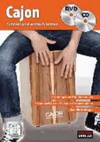 Helmut Hage - Cajon - schnell und einfach lernen + CD + DVD - Grundlagen und Spieltechniken - Schon nach kurzer Zeit viele Grooves spielen - Ideal für Anfà nger - DVD mit allen Übungen und Songs - CD mit tollen Playbacks zum Mitspielen - Mit vielen Fotos.