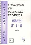 Câlin Lazar - Modules IV - V - VI.