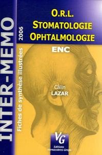 Câlin Lazar - ORL Ophtalmologie Stomatologie.