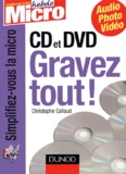 Callaud - CD et DVD - Gravez tout !.