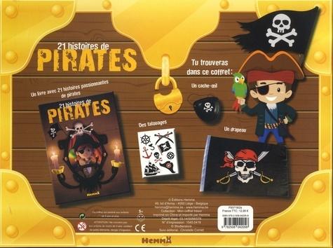 21 histoires de pirates. Avec des tatouages, 1 drapeau et 1 cache-oeil