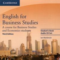 Ian MacKenzie - English for Business Studies - A course for business studies and economics students. 2 CD audio