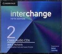 Jack-C Richards - Interchange Level 2 - Class Audio CDs. 3 CD audio
