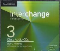 Jack-C Richards - Interchange Level 3 - Class Audio CDs. 3 CD audio