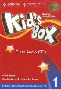 Caroline Nixon et Michael Tomlinson - Kid's Box 1 - Class Audio CDs. 4 Cédérom
