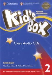 Caroline Nixon et Michael Tomlinson - Kid's Box 2 - Class Audio CDs. 4 CD audio