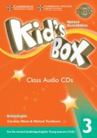 Caroline Nixon et Michael Tomlinson - Kid's Box 3 - Class Audio CDs. 3 CD audio