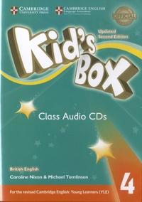 Caroline Nixon et Michael Tomlinson - Kid's Box 4 - Class Audio CDs. 3 CD audio