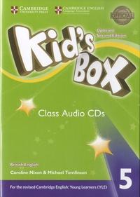 Caroline Nixon et Michael Tomlinson - Kid's Box 5 - Class Audio CDs. 3 CD audio