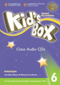 Caroline Nixon et Michael Tomlinson - Kid's Box 6 - Class Audio CDs. 4 CD audio
