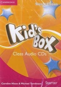 Caroline Nixon et Michael Tomlinson - Kid's Box Starter - Class Audio CDs. 2 CD audio