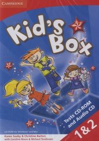 Karen Saxby et Christina Barton - Kid's Box. 2 Cédérom + 1 CD audio