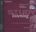 Tony Lynch - Study Listening - A Course in Listening to lectures and Note-taking.