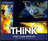 Herbert Puchta et Jeff Stranks - Think Level 1 Class Audio CDs. 2 CD audio