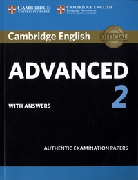 Goodtastepolice.fr Cambridge English Advanced 2 with answers - Authentic Examination Papers Image