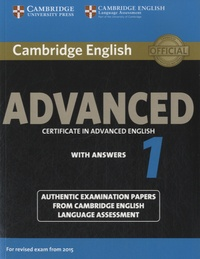 Cambridge University Press - Cambridge English Advanced - Certificate in Advanced English with Answers.