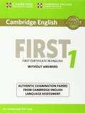 Cambridge University Press - First - Examination Papers without Answers.