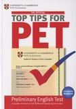 Cambridge University Press - The Official Top Tips for PET. 1 Cédérom