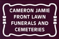 Cameron Jamie - Front Lawn Funerals and Cemeteries.