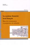 Camille Allé et Françoise Navarre - Le système financier local français - Bilan des connaissances et perspectives de recherche.