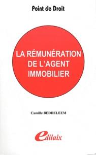 Camille Beddeleem - La rémunération de l'agent immobilier.