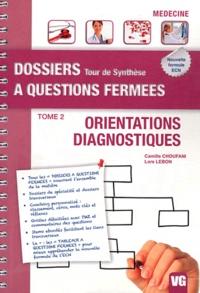 Camille Choufani et Lore Lebon - Orientations diagnostiques - Tome 2.