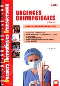 Camille Choufani - Urgences chirurgicales ECN - 30 nouveaux dossiers originaux.