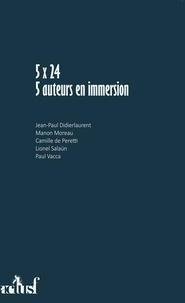 Camille de Peretti et Paul Vacca - 5x24 - 5 auteurs en immersion.