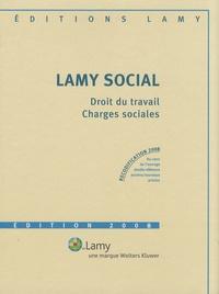 Camille Goasguen et Catherine Girodroux - Lamy social - Droit du travail, charges sociales. 1 Cédérom