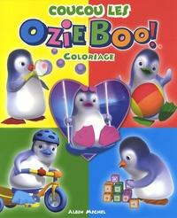 Camille Mateos et  Albin Michel - Coucou les Ozie Boo ! - Coloriage.